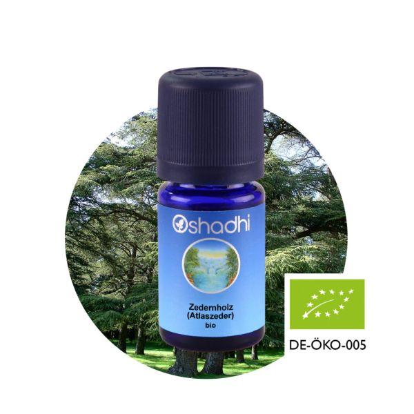 Aromaöl Zedernholz (Atlszeder), Bio, 5 ml