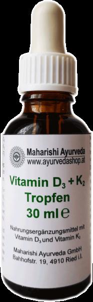 Vitamin D3+K2 Tropfen, 30 ml