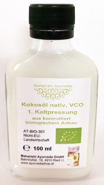 Kokosöl nativ VCO, Bio, 100 ml