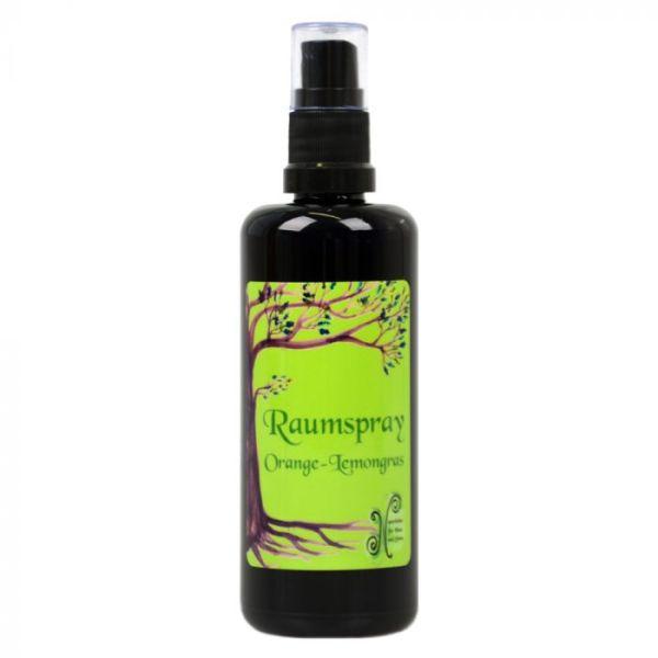 Raumspray Orange-Lemongras, vegan, 100 ml
