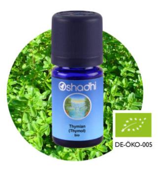 Aromaöl Thymian Thymol, Bio, 5 ml